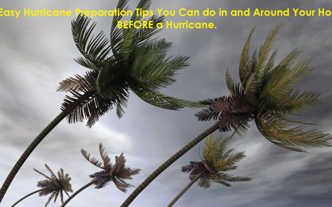 5 Easy Hurricane Preparation Tips