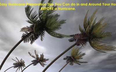 5 Easy Hurricane Preparation Tips