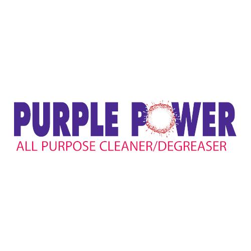 Purple Power A Logo