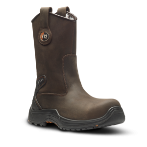 TIGRIS BROWN WAXY UNLINED RIGGER BOOT