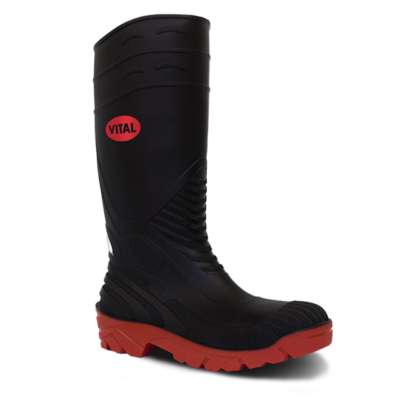 TITAN BLACK S5 WELLINGTON BOOT SZ