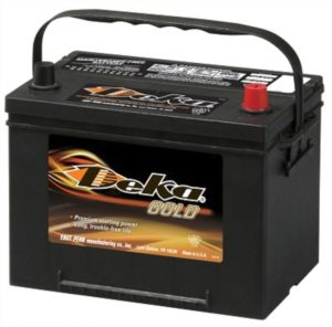 TEMPORARY Target Solutions - Deka Battery
